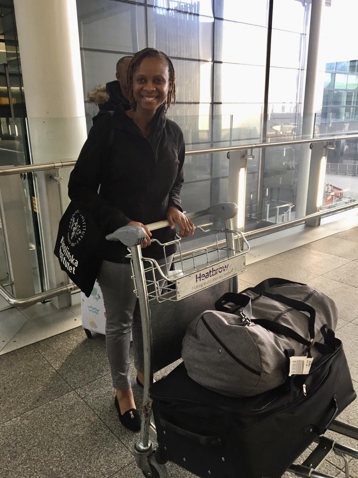 Tamara Phiri visits the UK - October 2019